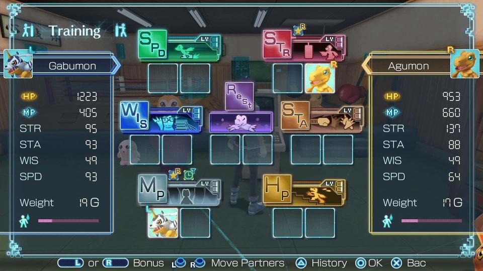 Digimon World Next Order - Training 2