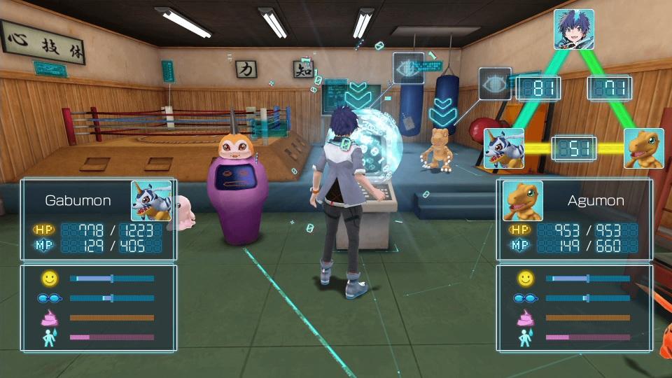 Digimon World Next Order - Training