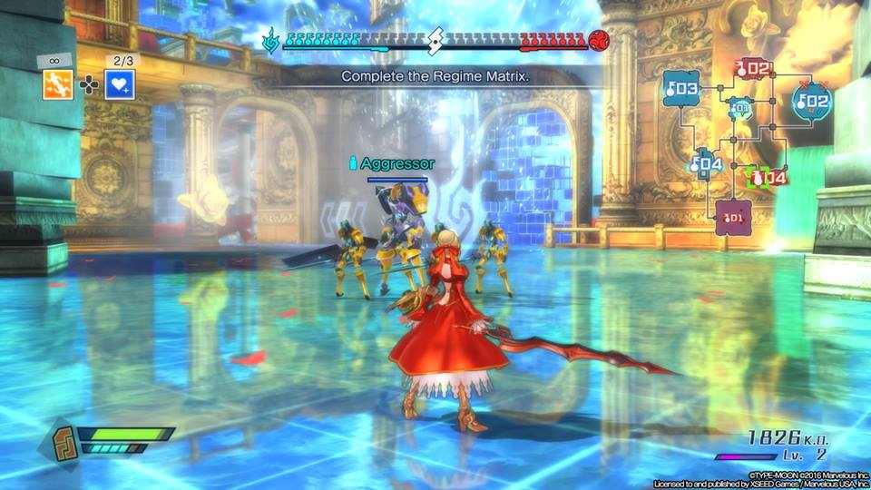Fate Extella - Action