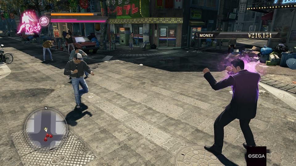 Yakuza 0 - Battle